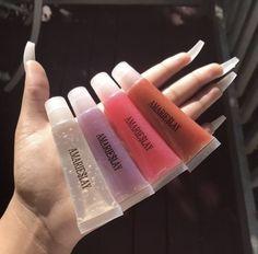 Glitter Lip Gloss, Diy Lip Gloss, Kiss Makeup, Eye Makeup, Unicorn Lip Gloss, Glossier Lip Gloss, Lip Hydration, Baddie Makeup, Glossy Lips