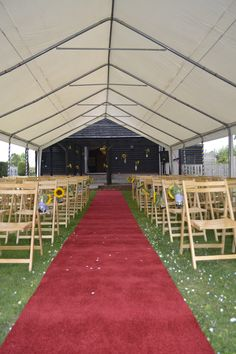 Room for extra marquee areas