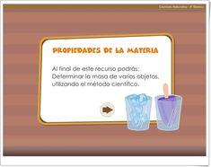 Properties Of Matter, Science Area, Interactive Activities, Teaching Resources