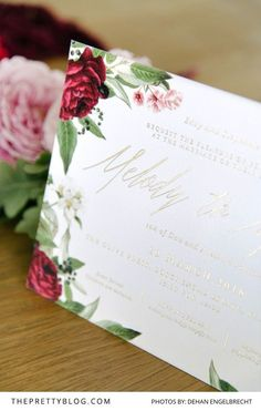 Styled Stationery Trends for 2016   Stationery   Wedding Inspiration   Photography by Dehan Engelbrecht