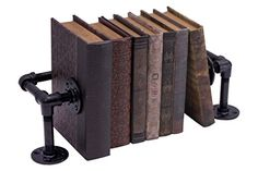 Pipe Décor 38BKCRL-BK Rustic and chic Industrial Book/DVD...