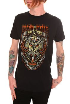 Memphis May Fire Owl T-Shirt | Hot Topic