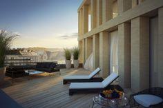 Projekt Hans-Gasser-Platz neu(n). Exklusive Wohnungen, Büros und Ordinationen über den Dächern von Villach (c) Trecolore Architects