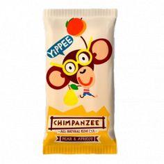 Barrita Energética Chimpanzee Pera Albaricoque