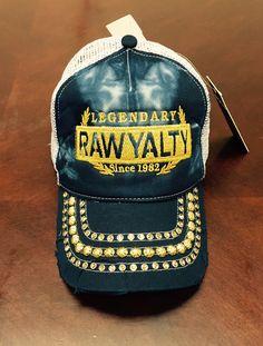 8ce6d2ba5e2 Rawyalty Legendary Crystal Stone Hat Tie Dye Navy Just Style