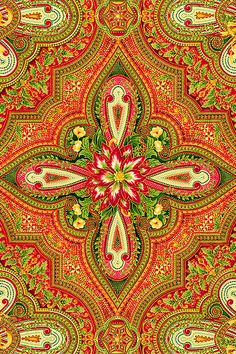 'Holiday Flourish 5' collection by Peggy Toole for Robert Kaufman Fabrics