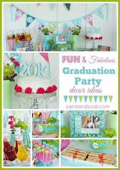 Graduation Party Decor Ideas