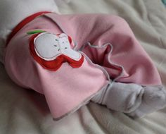 Apple Yoga Pants for Baby in Pink Sweatpants for by MyLittleAura
