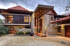 Home Design, Modern House Design, Design Ideas, Contemporary Architecture, Contemporary Homes, Japanese Architecture, Modern Homes, Prairie Style Architecture, Architecture Moderne