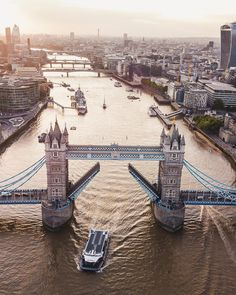 Tower Bridge and River Thames, London, England. London Eye, London City, Travel Around The World, Around The Worlds, London Dreams, London Instagram, Foto Instagram, Tower Bridge London, London Landmarks