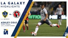 Watch highlights of Ashley Cole's first minutes in an LA Galaxy uniform during the club's 0-0 draw with Club Tijuana.