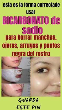MUJERES TOMEN NOTA; ASÍ SE MEZCLA EL BICARBONATO DE SODIO PARA QUITAR LAS ARRUGAS, MANCHAS Y OJERAS DEL ROSTRO. - Salud y vida #remedios #casero #naturales #beneficios #bienestar #solucion #curas #comida #bebidas #arrugas #manchas #ojeras #piel #rostros