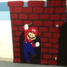 Mario themed classroom