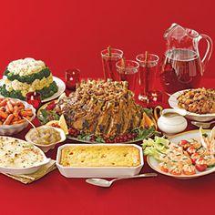Our Favorite Traditional Christmas Dinners  | Christmas Dinner Menu | MyRecipes.com
