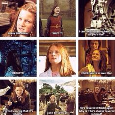 Image shared by lucianamahia. Find images and videos about harry potter, always and harry on We Heart It - the app to get lost in what you love. Harry Potter Puns, Harry Potter Pictures, Harry Potter Universal, Harry Potter Characters, Harry Potter Ginny Weasley, Ron Weasley, Hermione Granger, Fictional Characters, Bonnie Wright