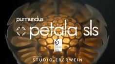Petala SLS by STUDIO EBERWEIN. www.studio-eberwein.de Lighting Concepts, Lighting Design, Studio, 3d Printing, Prints, Product Design, Light Design, Impression 3d, Studios