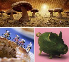Incredible Art Made From Food  By msaleem in Gadgets & Geek Art,