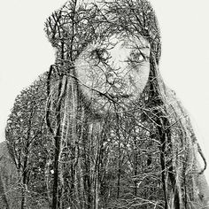 Multiple exposure portraits by Christoffer Relander.    Credits: Design you trust
