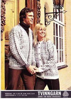 Nordvang 686 S (Hedmark) Norwegian Knitting, Fair Isle Knitting, Color Patterns, Scandinavian, Ruffle Blouse, Sweaters, Tops, Women, Crafts