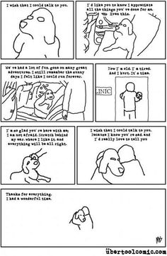 Aaawww..for anyone that has ever had to put a dog down....this will help you know you did the right thing
