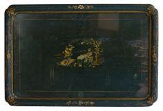 Chinoiserie Painted Tray on OneKingsLane.com