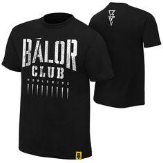 "Official WWE / NXT - Finn Bálor ""Bálor Club"" Authentic T-Shirt: Amazon.co.uk…"