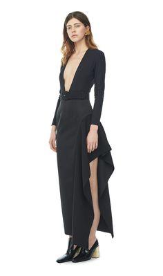 Solace London Amber Bodysuit Black | Tome 11