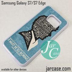 Sherlock It Must Be So Boring (2) Phone Case for Samsung Galaxy S7 & S7 Edge