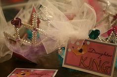 """Could have a """"Daughter of a King"""" party for 3 - Kinder at the church. Come dressed up as a Princess for tea, a quick lesson, games and fun! Could be a """"Mommy and Me"""" party."""
