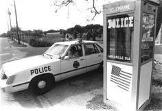 World's Smallest Police Station, Carrabelle, FL