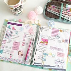 Our #CPCPlannerGirl this week is @hautepinkfluff. Not only does she have the cutest #planner layouts but her desk space is amazing too! Head on over to coolpencilcase.blogspot.com to read her interview and see photos! by coolpencilcase