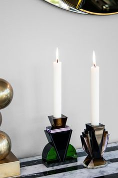 Brooklyn and Queens candle holders by Reflections Copenhagen | Flodeau.com