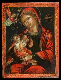 """ΜΡ.ΘΥ__Παναγια   """" η Γαλακτοτροφουσα""""      ( Whispers of an Immortalist: Most Holy Theotokos 9"""