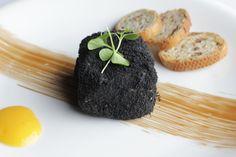 Terrina de foie & ciruelas Ceniza de oliva