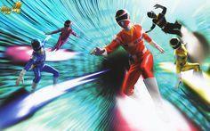Megaranger / Power Rangers in Space