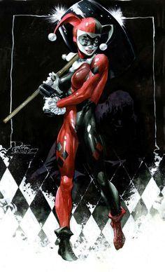 Harley Quinn by Philip Tan
