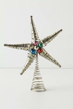 Treetopper star, via Anthropologie
