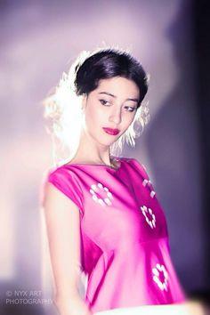 Amaranta Mejía '14  #FashionDesign #pink #model #mexicandesing