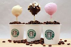 Starbucks Recipe for Birthday Cake Pops! Little bites of the sky that I discovered recently! Starbucks Recipe for Birthday Cake Pops! Little bites of the sky that I discovered recently! Starbucks Cake Pops, Starbucks Coffee, Köstliche Desserts, Delicious Desserts, Health Desserts, Starbucks Birthday Party, Cake Recipes, Dessert Recipes, Easter Recipes