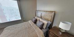 Seasons on the Boulevard is all about affordable, upscale, urban living! This bedroom combines modern elements with comfort of home!