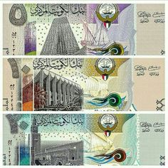 The new kuwait money