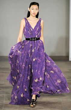 Purple and floral