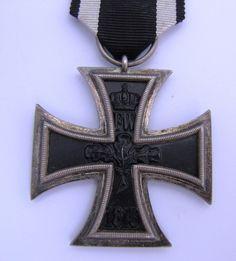 "Germany WW1 Iron Cross Hallmark ""EW"" on ring Emil Wiechmann Berlin - The Collectors Bag"