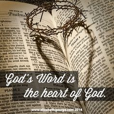 """""""God's Word is the heart of God."""" - One Year Daily Reading Plan"""