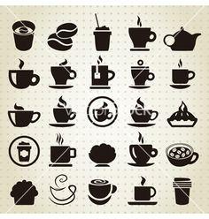 Coffee icons idea