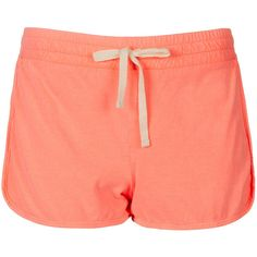 TOPSHOP Neon Side Panel Runner Shorts (275 ARS) ❤ liked on Polyvore featuring shorts, bottoms, topshop, short, pink, pink cotton shorts, cotton shorts, pink short shorts, pink shorts and neon shorts