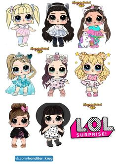 Wonderful No cost lol bebekler Ideas, A study was recently conducted with p 3784 jo . Lol Dolls, Cute Dolls, Lol Doll Cake, Picture Borders, Chibi Kawaii, Doll Drawing, Diy Tumblers, Cricut Craft Room, Art Drawings For Kids