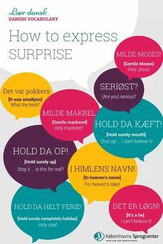 Danish Language Learning, Danish Words, Danish Christmas, Coding Languages, Language Study, English Lessons, Vocabulary, Helpful Hints, Scandinavian