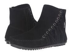Minnetonka Willow Boot Black Size 10