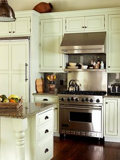 Storage Shelves And Stove On Pinterest